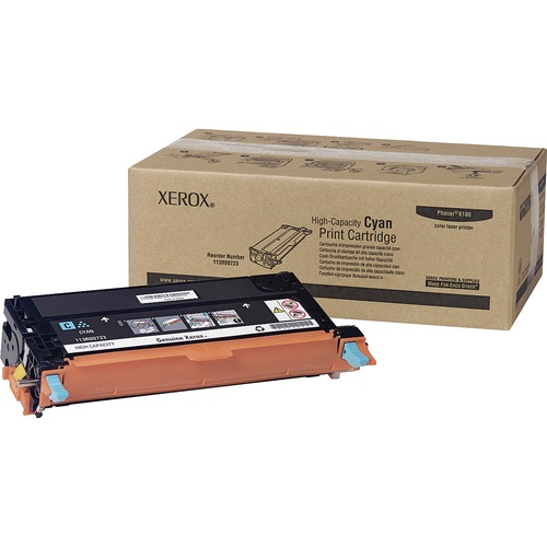 Xerox High Capacity Cyan Toner Cartridge