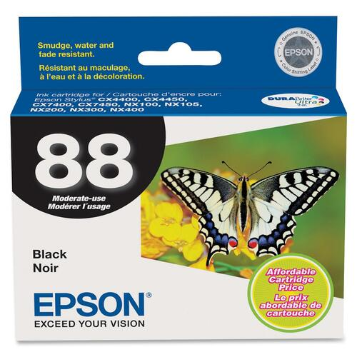 EPSON - SUPPLIES DURABRITE INK BLACK CARTRIDGE CX4400/CX4450/CX7400