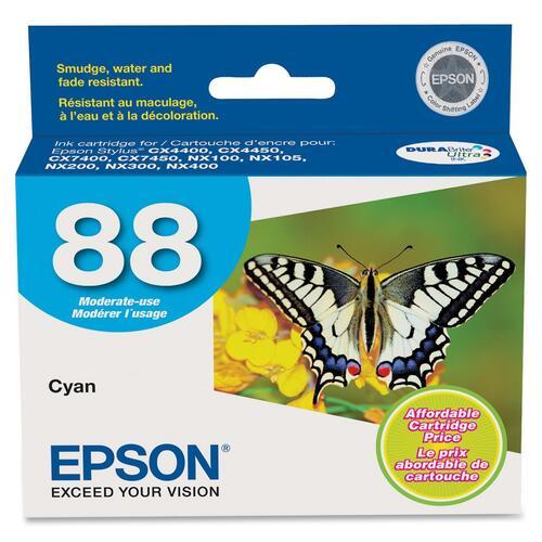 EPSON - SUPPLIES DURABRITE INK CYAN CARTRIDGE CX4400/CX4450/CX7400