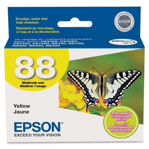 EPSON - SUPPLIES DURABRITE INK YELLOW CARTRIDGE CX4400/CX4450/CX7400