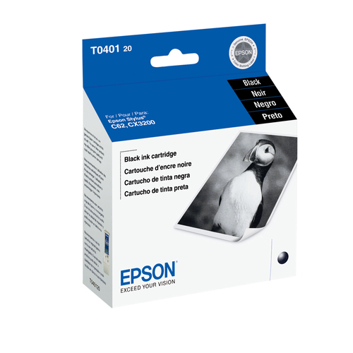 Epson T0401 Ink Cartridge - Black