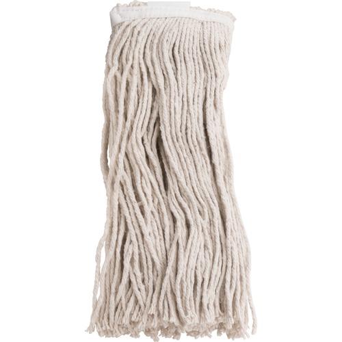 Genuine Joe Cotton Blend Mop Refill - Rayon, Cotton, Polyester - Natural