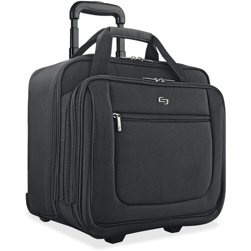 """Solo Classic Carrying Case (Portfolio) for 17.3"""" Notebook   Black"""