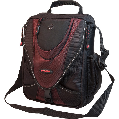 ME MINI MESSENGER BLK/RED HOLDS 14.1IN NB SCREENS