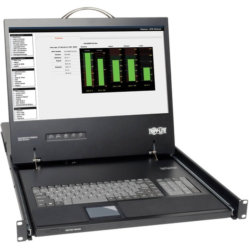 1U RM KVM CONS W 19IN LCD MON