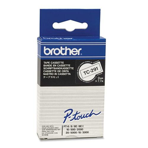 Brother P-Touch TC291 Laminated Tape