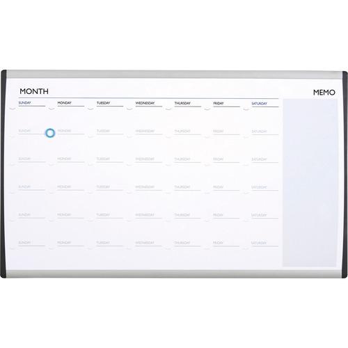 Quartet Arc Cubicle Whiteboard Calendar 18 Height X 30 Width