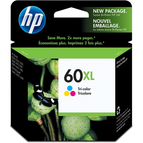 HP 60XL Tri-Color Ink Cartridge