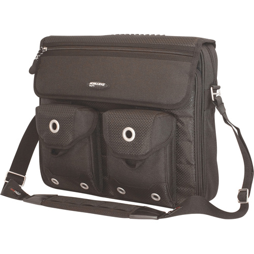 THE EDGE MESSENGER BAG - BLACK