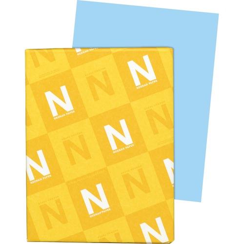 "Wausau Paper Exact Bristol Cover Stock - 92 Brightness - Letter - 8 1/2"" x 11"" - 67 lb Basis Weight - Vellum - 250 / Pack - FSC"