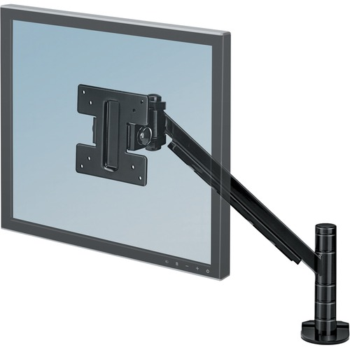 """Fellowes Designer Suites™ Flat Panel Monitor Arm - 21"""" Screen Support - 9.07 kg Load Capacity - 1 Each"""