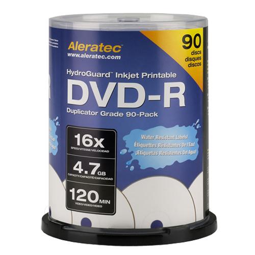 Aleratec 16x DVD-R Media