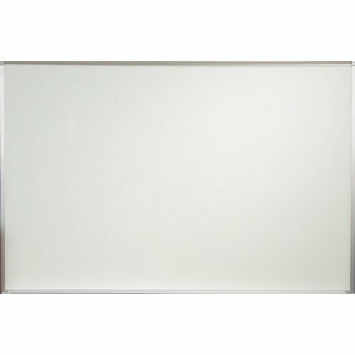 PORCELAIN STEEL MARKERBOARD - DELUXE ALUMINUM TRIM 4X6 INCHES