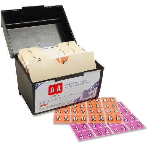 "Pendaflex Color Coded Label - ""Alphabet"" - 1 1/4"" x 15/16"" Length - Rectangle - 3840 / Box"