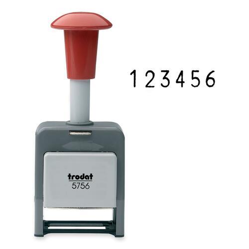 Trodat Self Inking Numbering Machine - 1 Each