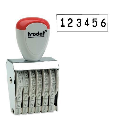 Trodat Manual Numberer Stamp - 1 Each
