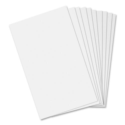 "Hilroy Scratch Pad - 96 Sheets - Plain - Glue - 3"" x 5"" - White Paper - 10 / Pack"