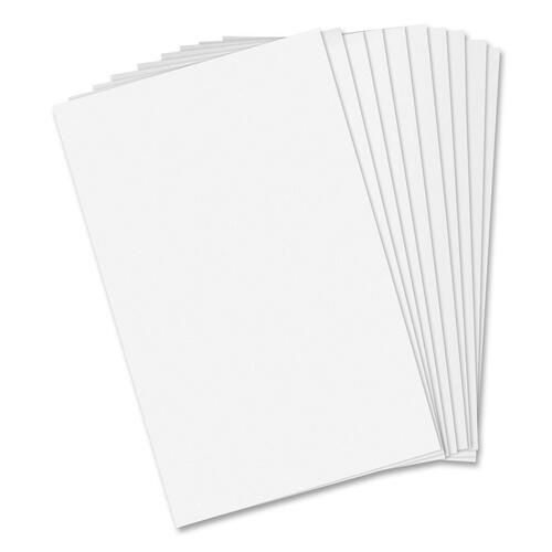 """Hilroy Scratch Pad - 96 Sheets - Plain - 5"""" x 8"""" - White Paper - 10 / Pack"""