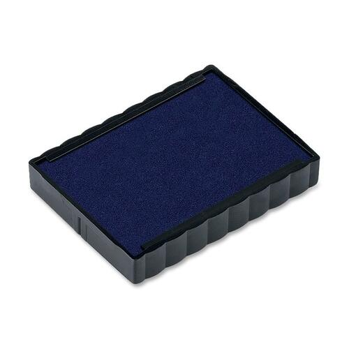 Trodat Replacement Ink Pad - 1 Each - Blue Ink