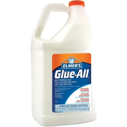 Elmer's No-Run Formula Glue-all - 3.79 L - 1 Each - White