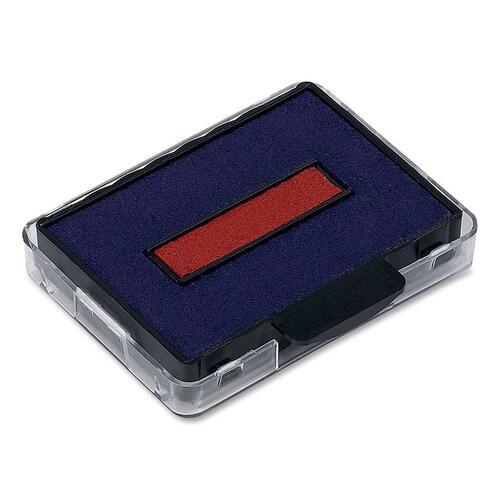 Trodat Professional Line Heavy-Duty Dater Ink Pad - 1 Each - Blue, Red Ink