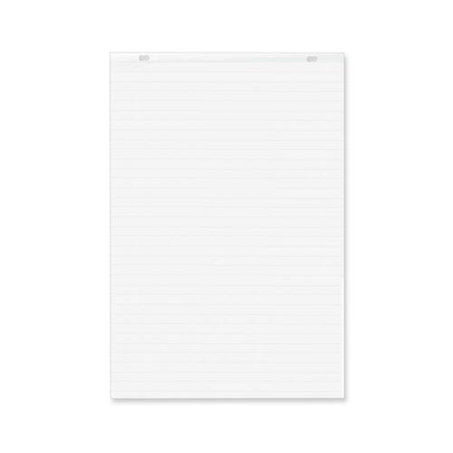 """Quartet Lined Bond Flip Chart Easel Pad - 50 Sheets - 24"""" x 36"""" - Punched - Recycled - 1Each"""