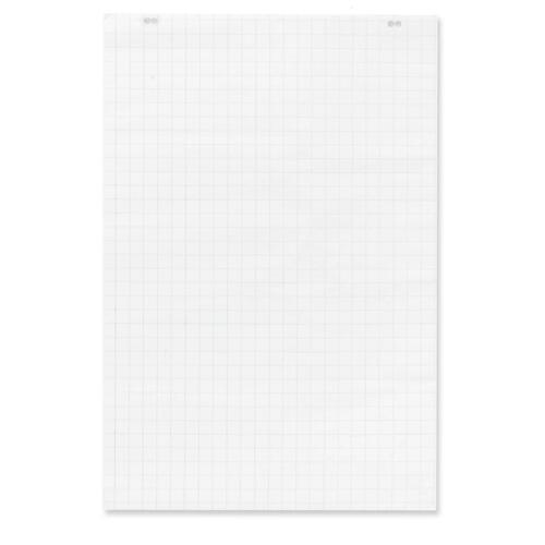 """Quartet Graph Bond Flip Chart Easel Pad - 50 Sheets - 24"""" x 36"""" - Punched - Recycled - 1Each"""