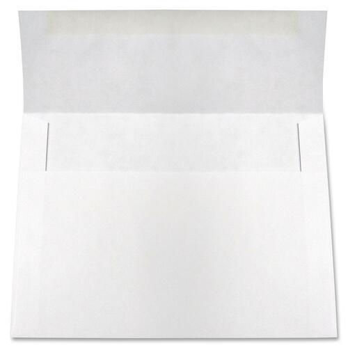 "Supremex A-Line Invitation Envelope - Business - 4 3/8"" Width x 5 3/4"" Length - 24 lb - Wove - 250 / Box - White"