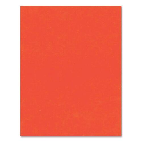 "Hilroy Heavyweight Bristol Board - Art - 22""Height x 28""Width - 1 Each - Orange"