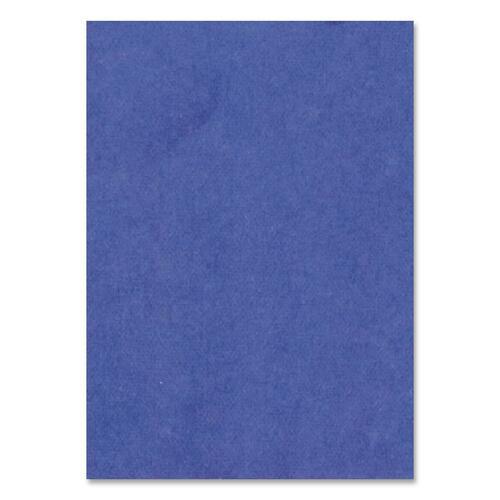 "Hilroy Heavyweight Bristol Board - Art - 22""Height x 28""Width - 1 Each - Dark Blue"