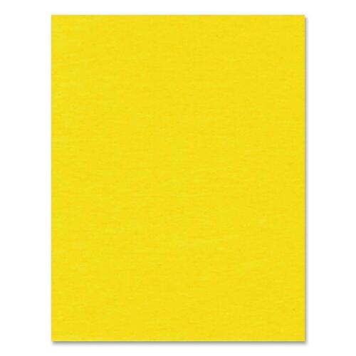 """Hilroy Heavyweight Bristol Board - Art - 22""""Height x 28""""Width - 1 Each - Yellow"""