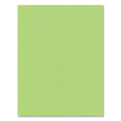 """Hilroy Heavyweight Bristol Board - Art - 22""""Height x 28""""Width - 1 Each - Light Green"""