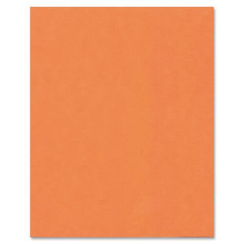 "Hilroy Heavyweight Bristol Board - Art - 22""Height x 28""Width - 1 Each - Fluorescent Orange"