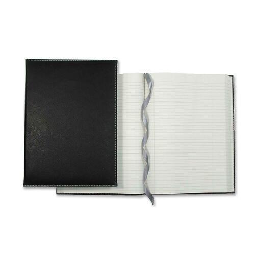 "Winnable Executive Journal Notebook - 320 Sheets - Sewn - 9 3/4"" x 7"" - Cream Paper - Textured - Ribbon Marker - 1Each"