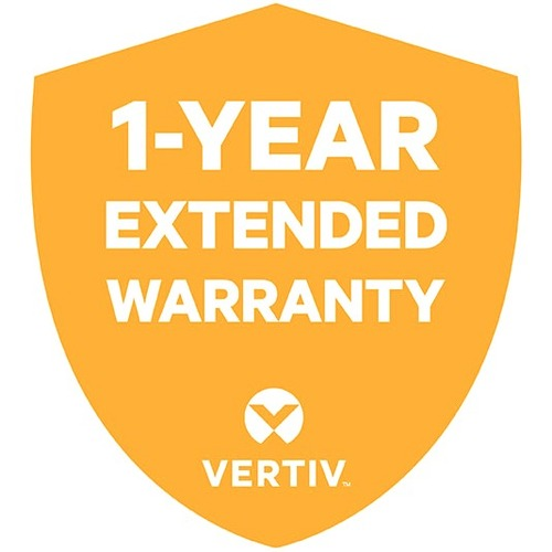 Vertiv 1 Year Extended Warranty for Vertiv Liebert PSI-XR 1000VA UPS Includes Parts and Labor (1WEPS1000RT3XR)