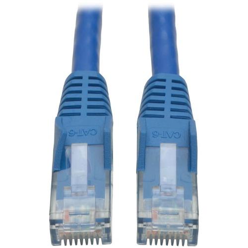 Tripp Lite 20ft Cat6 Gigabit Snagless Molded Patch Cable RJ45 M/M Blue 20'