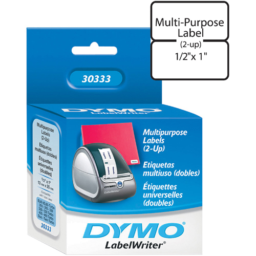 DYMO 1X1/2IN MULTIPURPOSE LABELS FOR LABELWRITERS