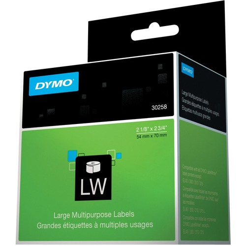 """Dymo Diskette Labels - 2.12"""" x 2.75"""" - 1 x Roll, 400 x Label"""