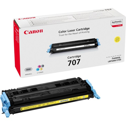 Canon 707 Toner Cartridge - Yellow