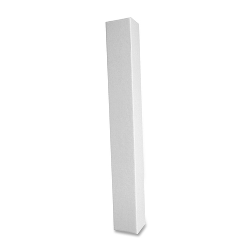 """Square Corrugated Mailing Tubes - 3"""" Width x 25"""" Length - 200lb - White"""
