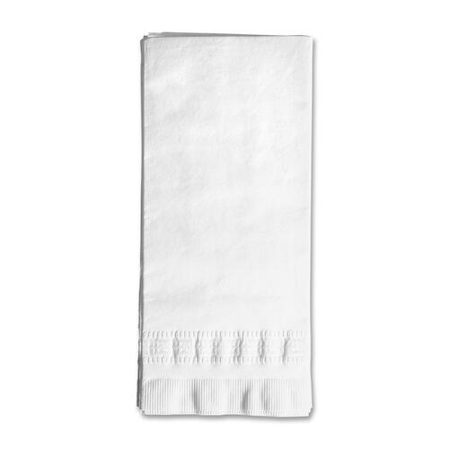 """Prime Source 2-Ply Dinner Napkin - 2 Ply - 15"""" x 16.3"""" - White - Fiber - Absorbent - For Food Service, Dinner - 375 / Pack"""