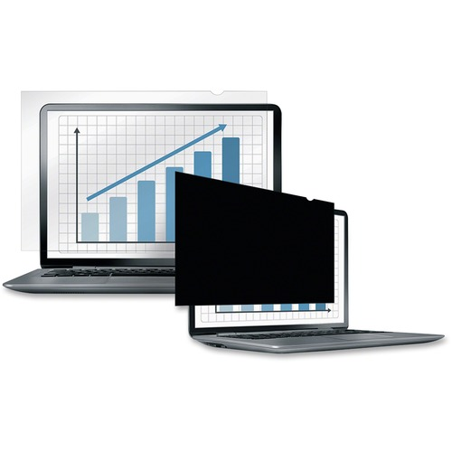 """Fellowes PrivaScreen™ Blackout Privacy Filter - 22.0"""" Wide - For 22"""" Widescreen LCD Notebook, Monitor - 16:10 - Dust-free, Scratch Protection -"""