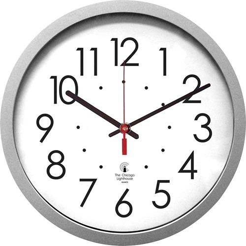 """Chicago Lighthouse 14-1/2"""" Quartz Wall Clock - Analog - Quartz"""