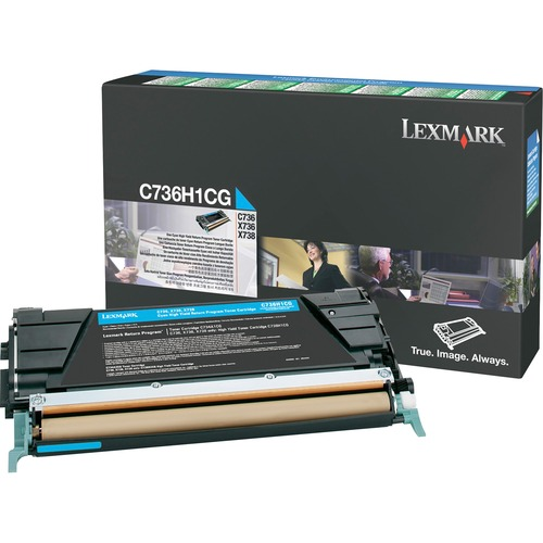 LEXMARK - BPD SUPPLIES CYAN HIGH YIELD RETURN PROGRAM TONR CART 10K FOR C736 X736 X738