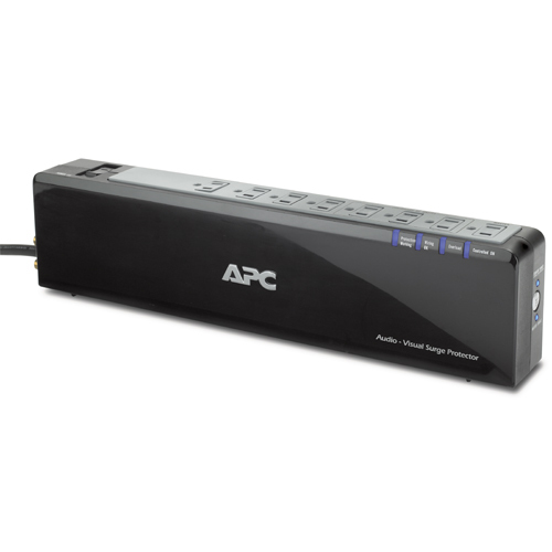 APC Premium 8-Outlets Surge Suppressor