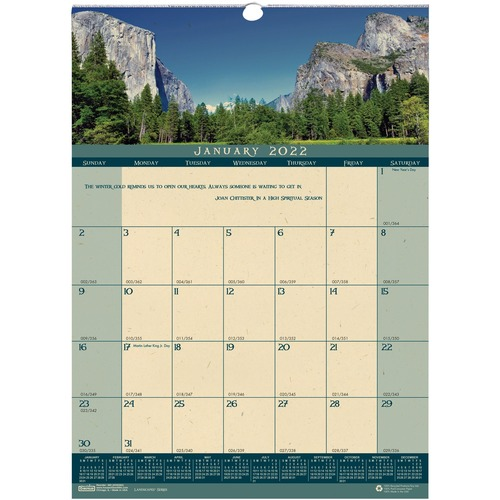 At A Glance Quicknotes Monthly Wall Calendar Yes