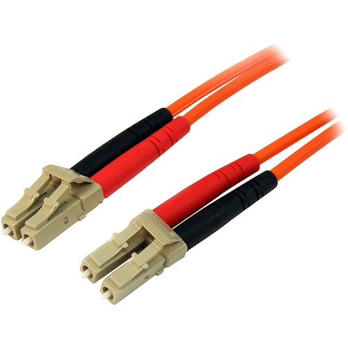 StarTech.com 10m Multimode 50/125 Duplex Fiber Patch Cable LC - LC - 2 x LC Male Network - 2 x LC Male Network - Orange
