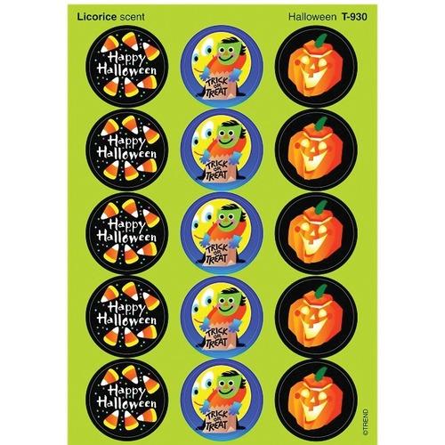 Trend Halloween - Licorice - Fun, Encouragement, Halloween Theme/Subject - Self-adhesive - Acid-free, Non-toxic, Photo-safe - 60