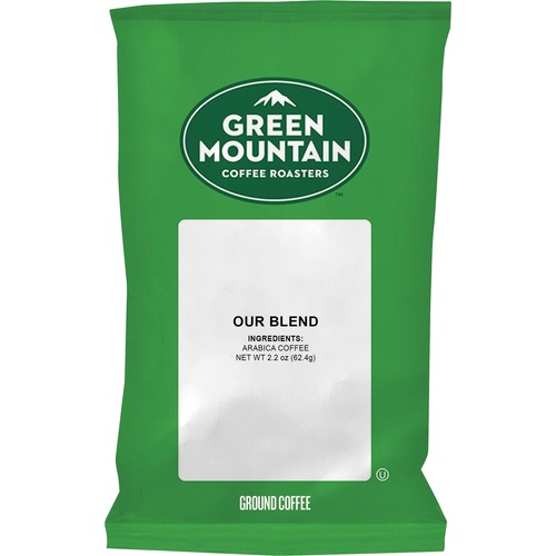 Green Mountain Coffee Roasters Our Blend Coffee - Regular - Light/Mild - 100 / Carton