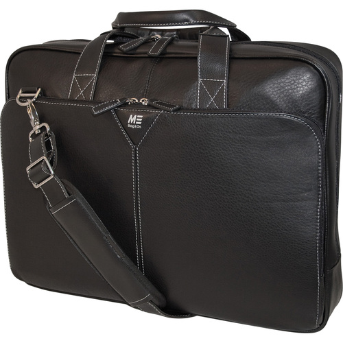 Mobile Edge Deluxe Leather 15.4 Laptop Briefcase